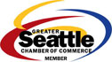 Member of Greater Seattle Chamber of Commerce
